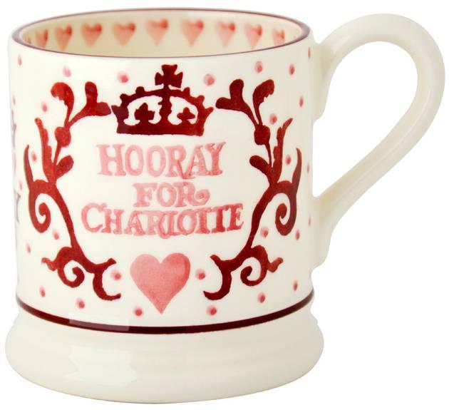 Beautiful Commemorative Charlotte Mug