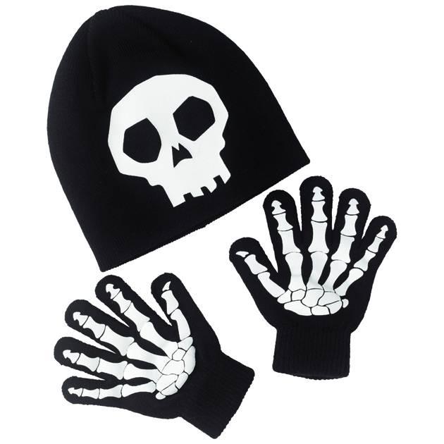 Skeleton Hat & Gloves