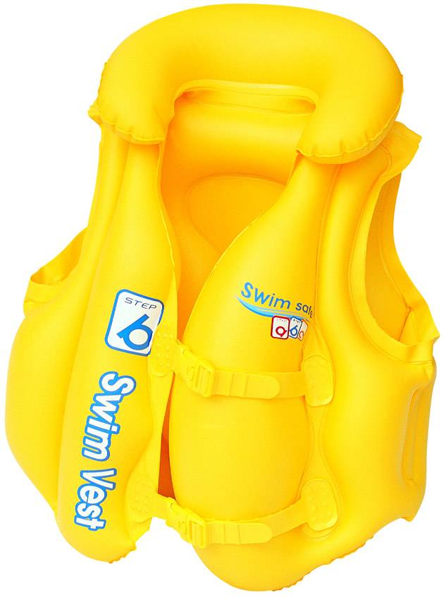 Yellow Swim Vest