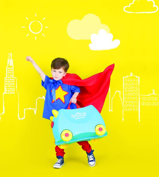 Superman Style Trunki