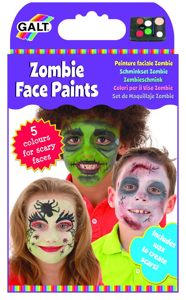 Zombie Face Paints