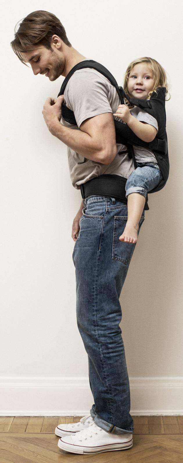 Dad Wearing Baby Sling