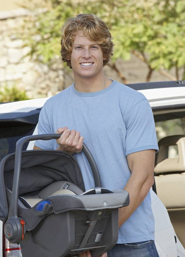 A portable car seat makes things easier