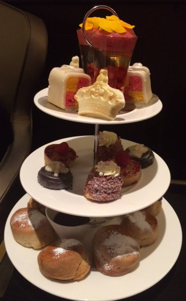 A Great Selection Of Treats For Afternoon Tea