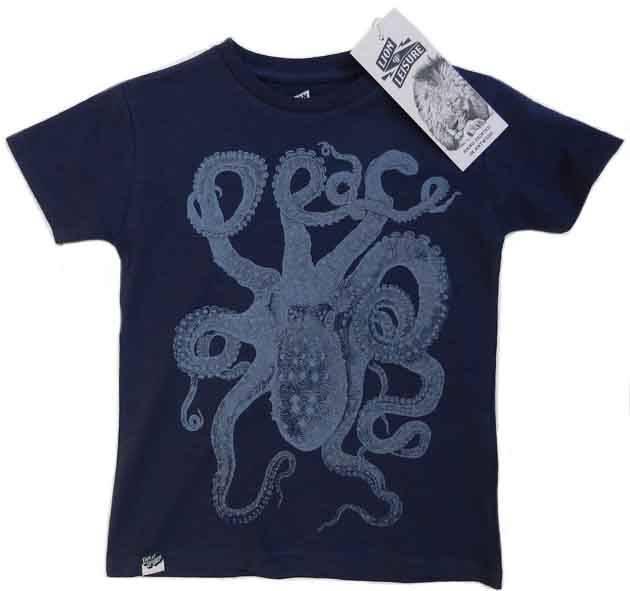 Octopus Design In Navy