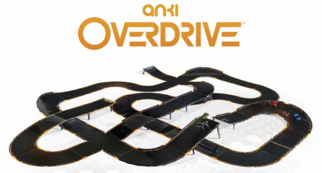 A particularly ambitious Anki Overdrive track layout