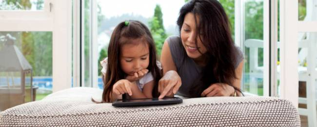 Spend time browsing the net alongside your child to help them learn