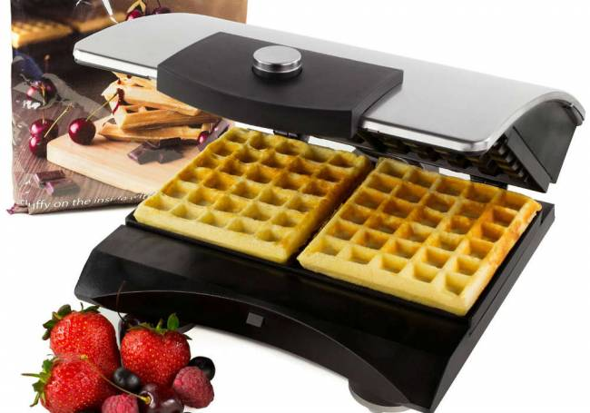 Waffle the fuss about?