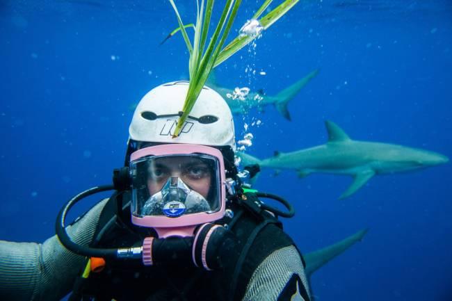 Tim Hird, AKA The Blowfish. Image: Havelock Photography.