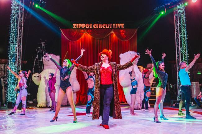 Zippos Circus takes over the MegaDome.