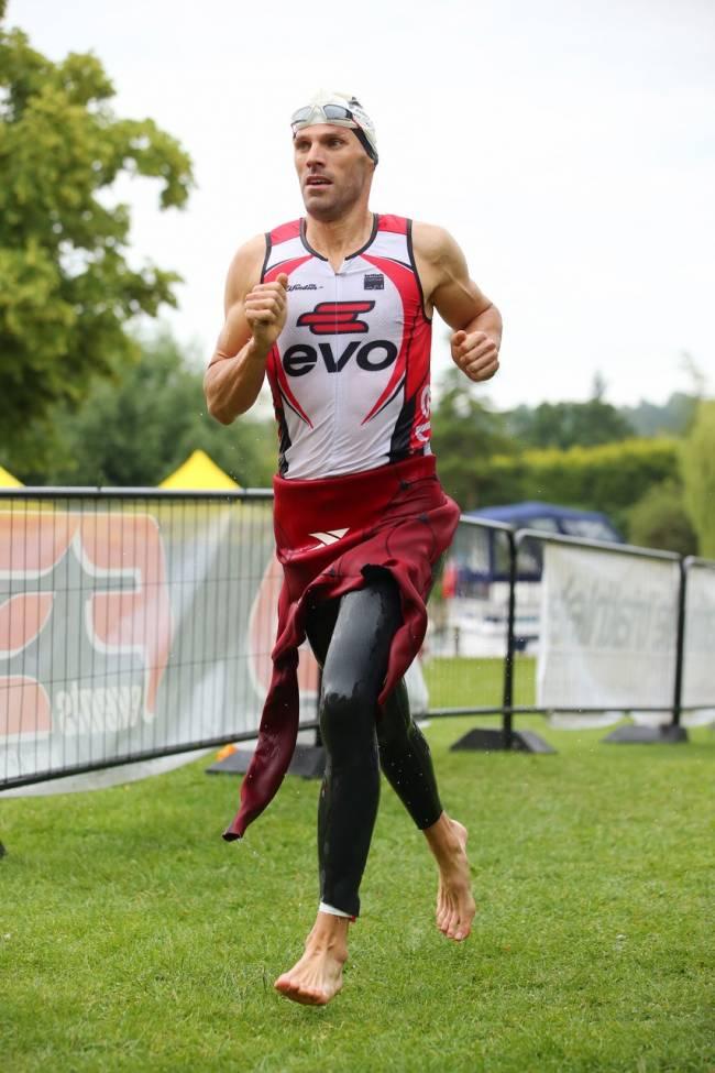 Double World Champion Olympic rower, Toby Garbett.