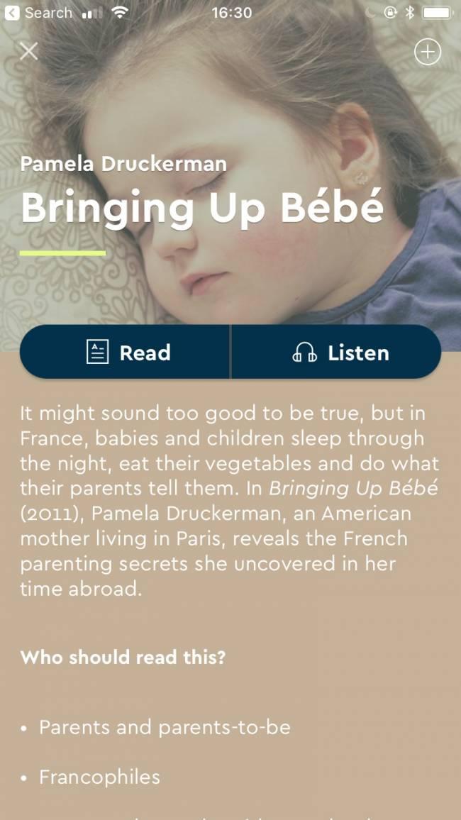 Bringing Up Bebe.