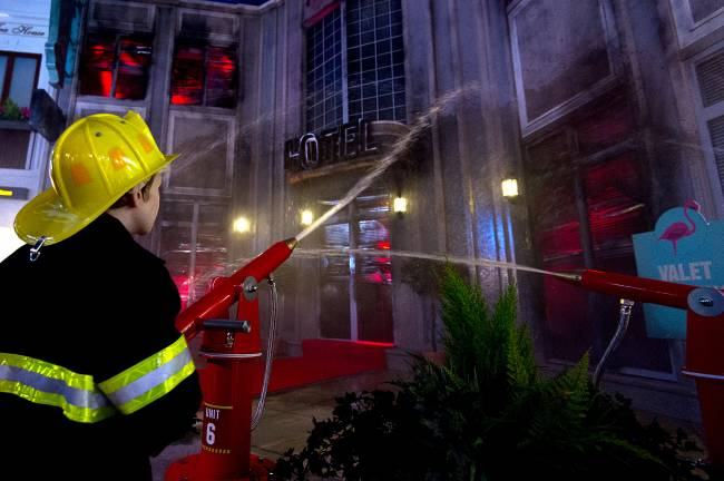 Kids no longer have to dream about being firefighters when they grow up – they can do it now at KidZania