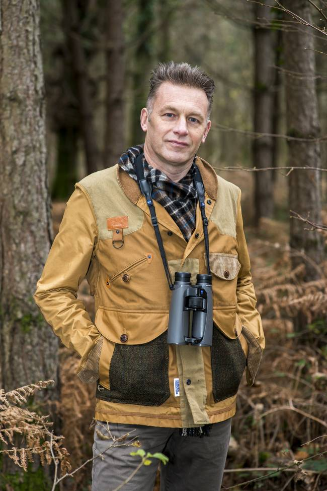 TV presenter and conservationist, Chris Packham will also be sharing his experiences