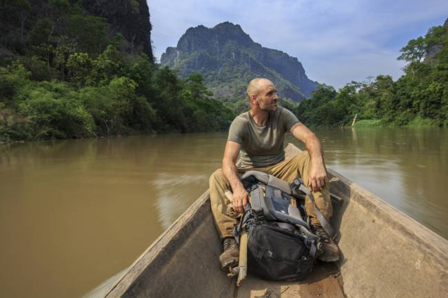 Ed films Left For Dead in Laos.