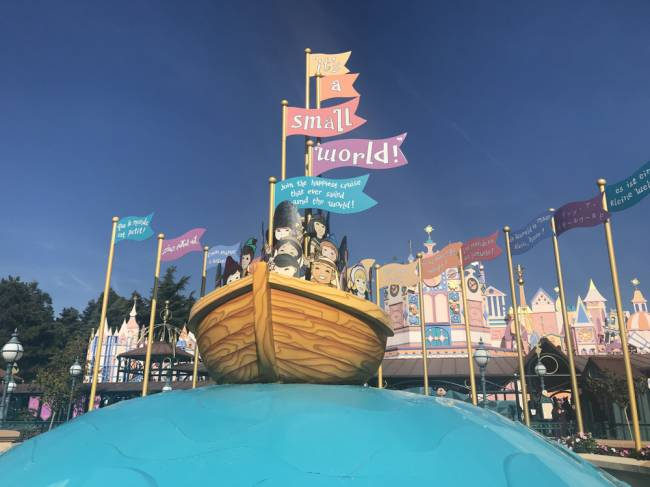 It's A Small World in Fantasyland. Image: Lauren Jarvis.