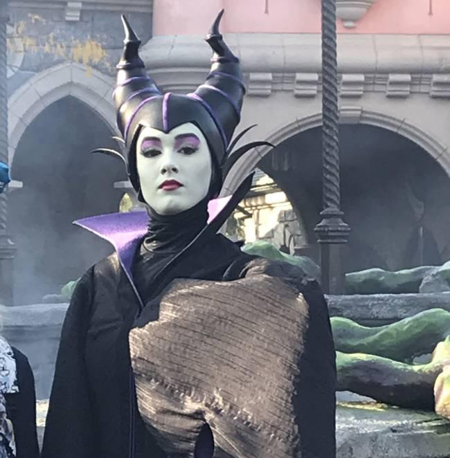 Maleficent in Fantasyland. Image: Lauren Jarvis.