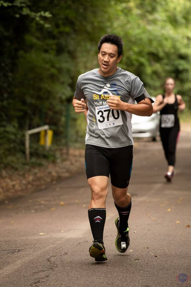 Dave now runs regularly to maintain a healthy weight.