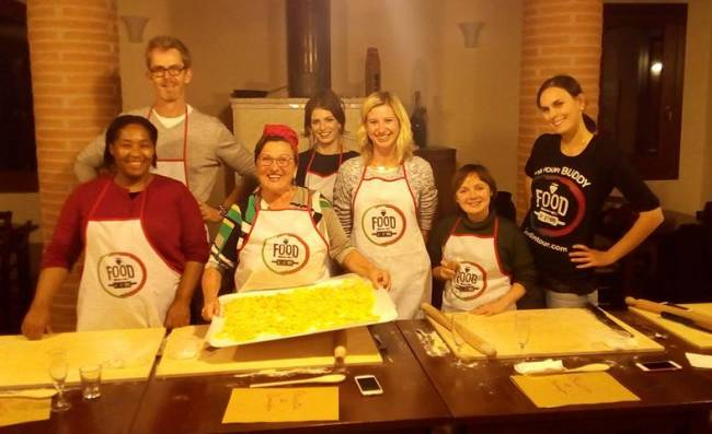 Making pasta like mamma used to make | Image: Mandy D. Charles.