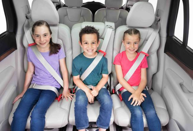 mifold is a new car restraint that works for kids from four to 12.