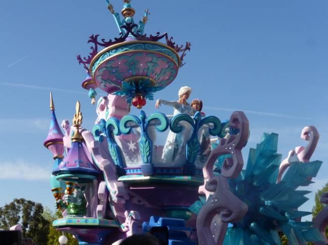 The famous Disneyland Paris Parade on Main Street. Image: Lauren Jarvis.
