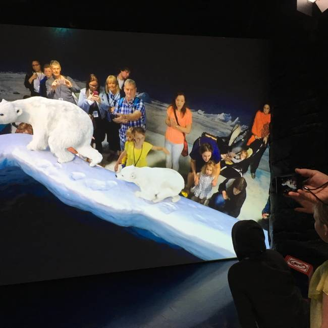 Augmented reality takes you to the Arctic