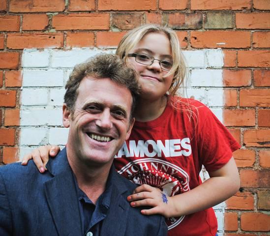 Richard with daughter, Billie-Jo