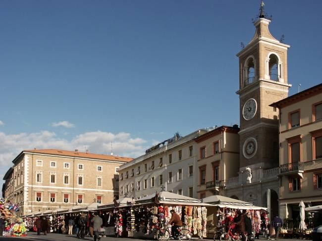 Piazza Tre Martiri in Rimini | Image: Emilia Romagna Tourism.