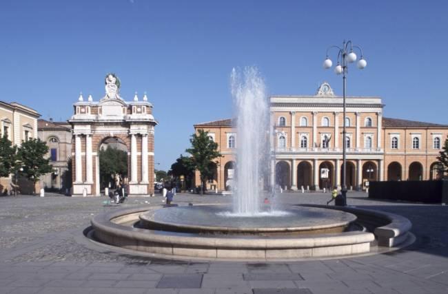 Piazza Ganganelli in Santarcangelo di Romagna | Image: Emilia Romagna Tourism.