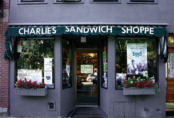 Charlie's Sandwich Shoppe.