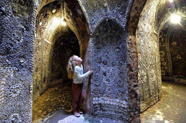 Shell Grotto | Image: Thanet Tourism.