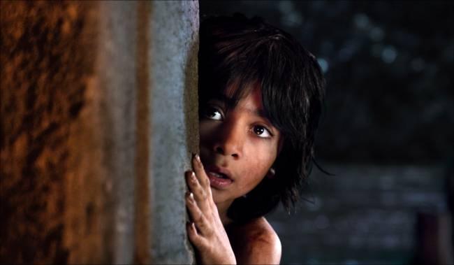 """Neel Sethi plays the  """"man-cub"""" Mowgli"""
