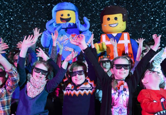 The LEGO Movie 4D: A New Adventure is great fun for the kids, too