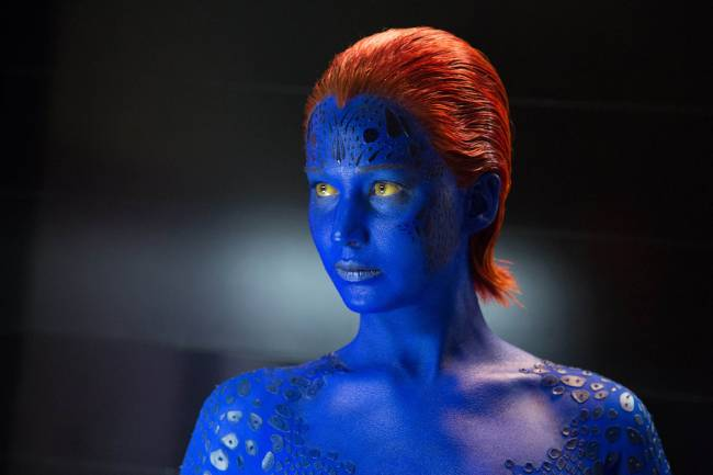 Mystique: helping to beat the January blues | Image: © 2014 20th Century Fox