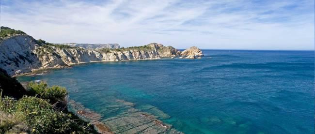 Javea lies on Spain's Costa Blanca.