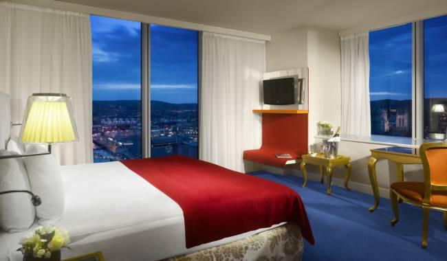Get a bird's-eye view of Bristol from the city's Radisson Blu hotel