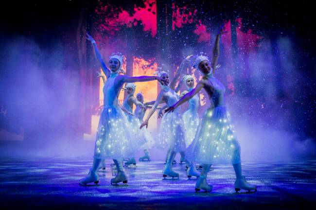 Dazzling ice shows at Winter Wonderland.