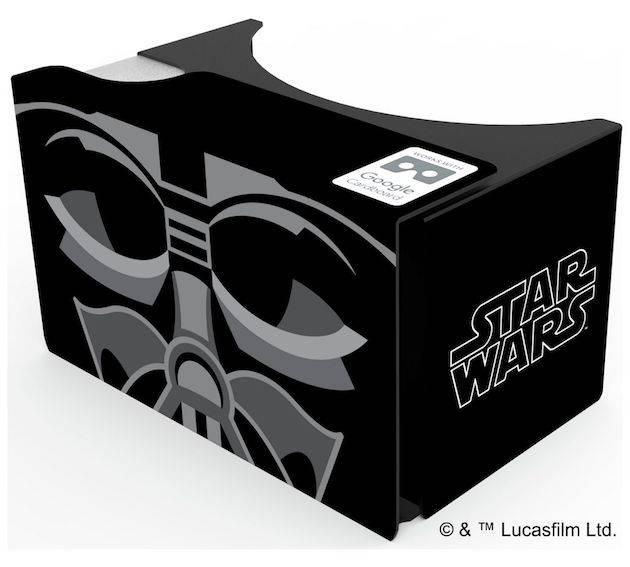 Darth Vader's helmet needed fixing