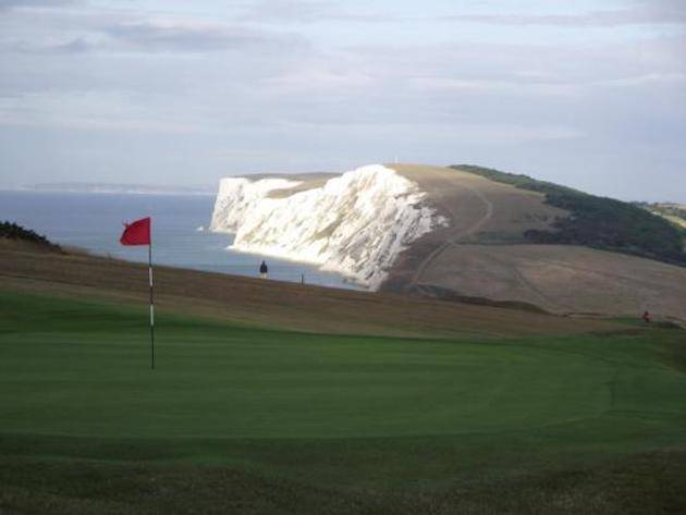 Biggest water hazard ever | courtesy Freshwater Bay Golf Club