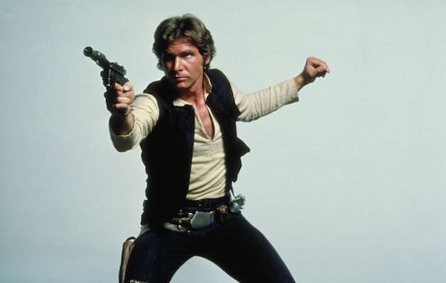 On the next page, he's modelling a scimitar and cable knit jumper I Image: Lucasfilm/Disney