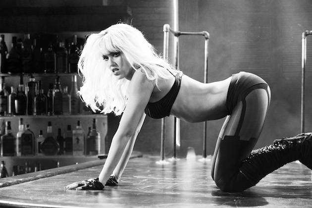 Alba has been practising hard since the original Sin City I Image: Lionsgate