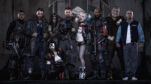 Not your usual family Christmas card I Image: Warner Bros.