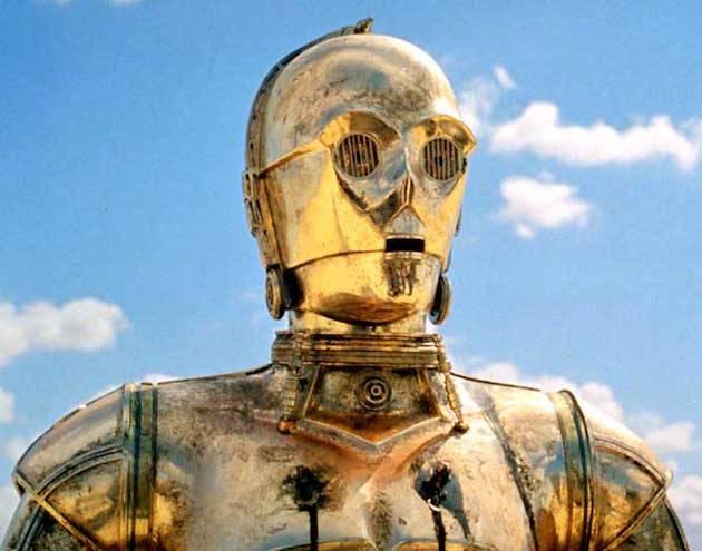 Million dollar idea: suncream for robots I Image: Lucasfilm/Disney. It's