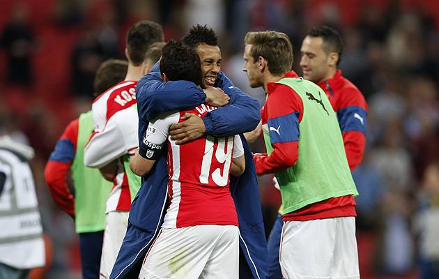 The record-hunting Gunners bettered Reading in their semi-final | Image: The Football Association