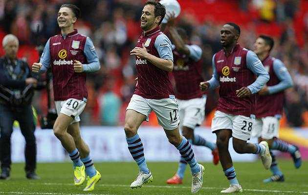 Aston Villa defeated Liverpool to reach the Wembley final | Image: The Football Association