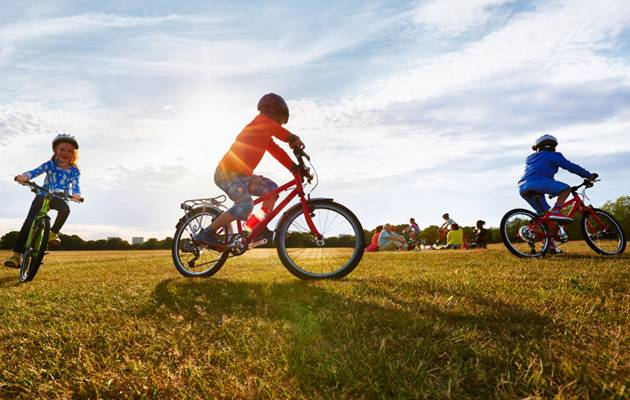 I like to ride my bicycle: How soon will your child learn how to ride? | Image: Islabikes.co.uk