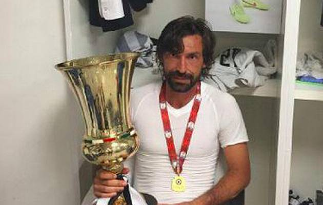 Miss me? Andrea Pirlo is one of four key men from last year's campaign who left Juventus in the summer | Image: Andrea Pirlo's Twitter account