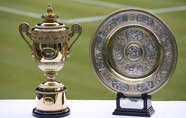 Got the metal? The famous trophies on offer at Wimbledon | Image: All England Lawn Tennis and Croquet Club