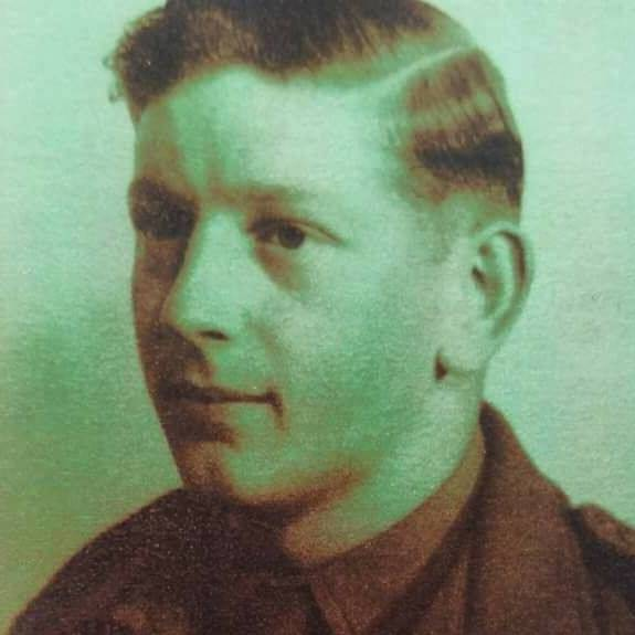 DAD - 1946, aged 18 in the Royal Highland Light Infantry