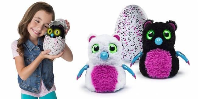 Hatchimals, the cuddly toys that break out of eggs, were the must-have toy of Christmas 2016     Image: Spin Master/Hatchimals